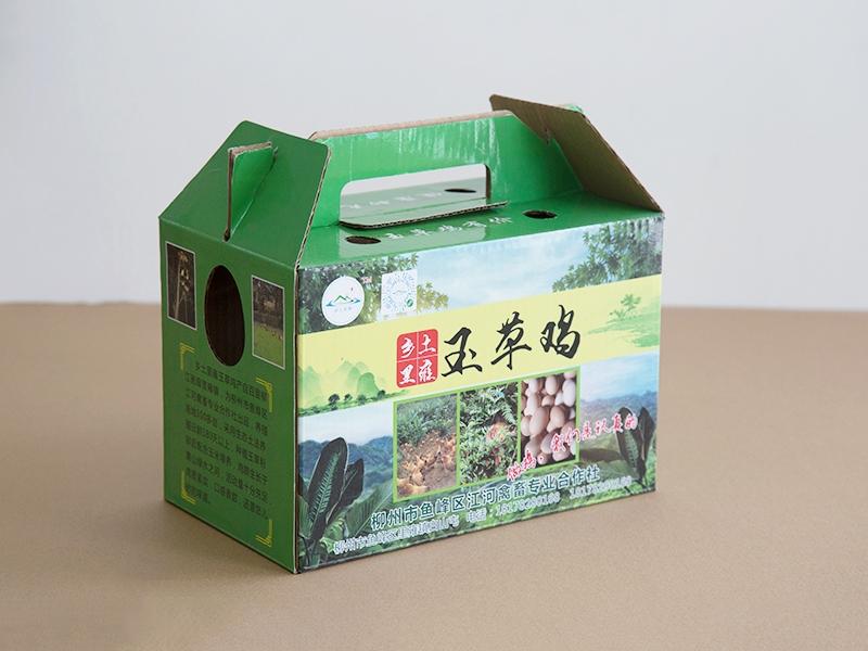 土鸡纸箱包装