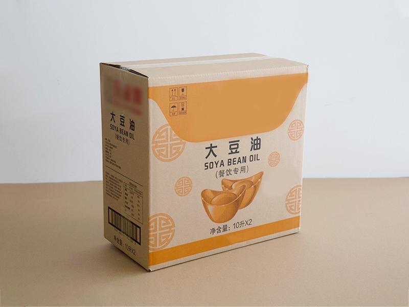 大豆油纸盒包装