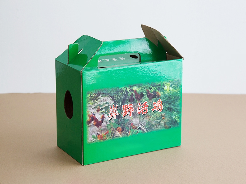 装鸡礼盒纸箱